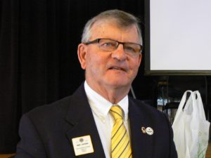 Lion Barry has been in Lions for twenty years and has never forgotten the vision for the future.  He has been President of his club, Santa Rosa Host Lions, three times and each time initiated a new program to help the club and the district.  In 2005 and 06, he helped set up the Vision Center which now serves about 4000 patients a year.  For this, he was named District Lion of the Year.  He also is President of the Redwood Lions Memorial Foundation, which as Lions owns the Earle Baum Center for the Visually Impaired.  As a board member, he can facilitate where the funds from Lions go to help the visually impaired.    Coming from a small community in Eagle River, Ontario, Canada, he lived and observed the hardships that many endured.  Fortunately, he was able to go to San Francisco State University, majoring in Business.  The best part of that, he met his wife, Roxanne, and after nearly fifty years has two great daughters and four grandchildren.     Lion Barry will keep pursuing the Lions Vision for the Future and hope all Lions will explore the opportunities we have ahead of us.  We are now working on a three year program that, when fully implemented, will bring success for our district and with all your help will make life easier for many thousands in our district.